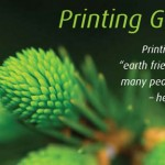 PrintHints newsletter focuses on printing's green side